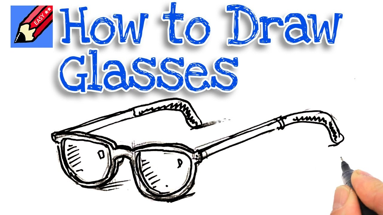 Learn how to draw a pair of spectacles real easy for kids youtube learn how to draw a pair of spectacles real easy for kids ccuart Gallery