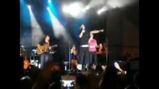 ANDY Y LUCAS - QUE ME LO QUITEN TODO , TANTO LA QUERIA ( GETAFE 2012 )