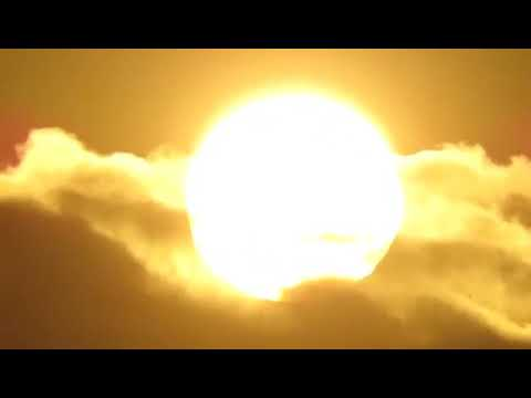 flat earth clouds behind the sun new 2 thumbnail