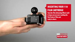 Baby Fisheye 110 - Inserting Your 110 Film Cartridge