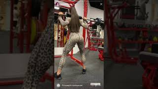 Very Hot and Sexy Russian Sport Girl at gym