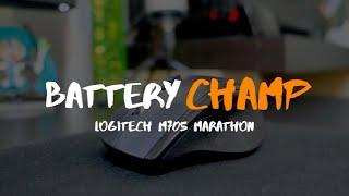 Logitech M705 Marathon Mouse │ Review (Longest Battery Life Wireless Mouse)