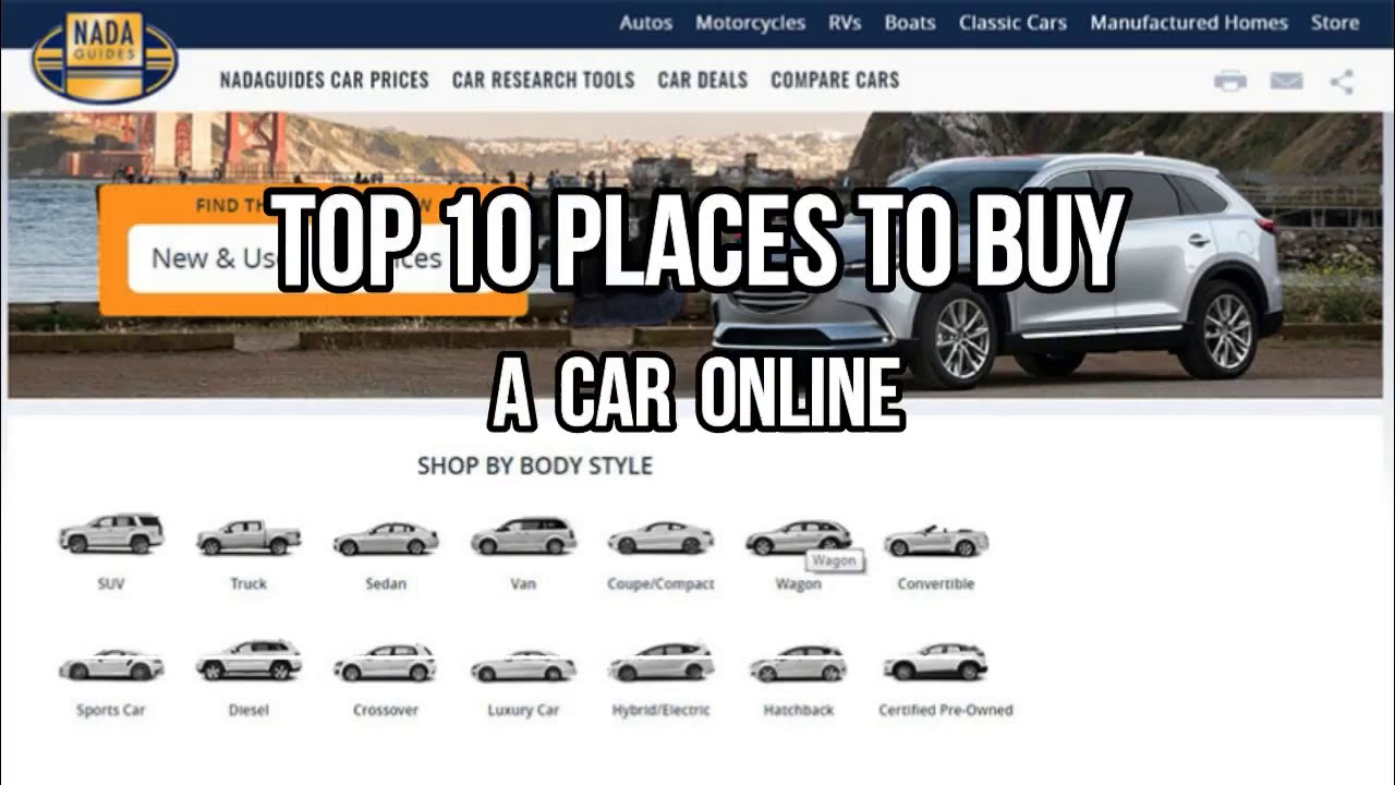 Top 10 Places To Buy A Cheap Car Online - YouTube