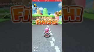 Mario Kart mobile gameplay