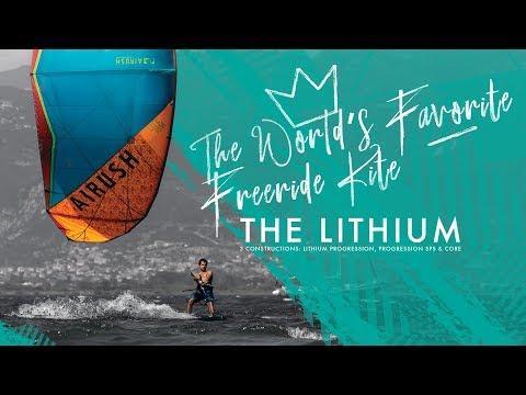The New Airush Lithium - The World's Favorite Freeride Kite