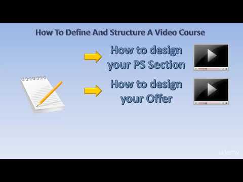 Web Video Editing and Production (Camtasia, PPT, Audacity) : How to design a Video Course