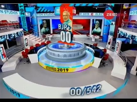 Have a glimpse of Zee News studio for Election results