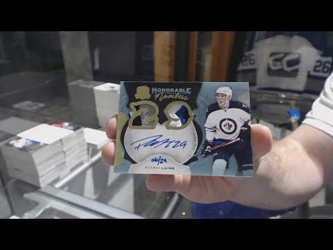 16-17 Upper Deck Hockey 6 Tin Cup Case Break - C&C GB#8298