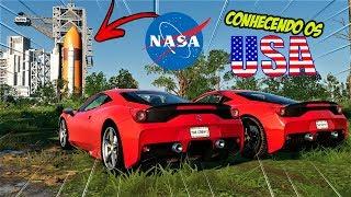 ACHAMOS A NASA SEM QUERER!! - CONHECENDO OS USA #07 - THE CREW 2