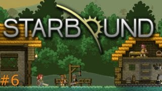 Starbound Gameplay Pt 6- Finding Copper and Iron
