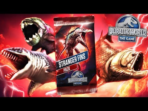 OPEN STRANGER FINS PACK - MYSTERIES OF THE SEA || Jurassic World The Game [FHD-1080p]