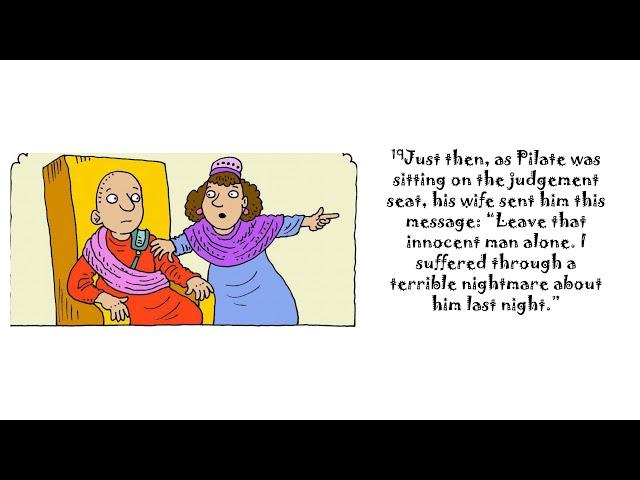 06/21/20-Jesus before Pilate