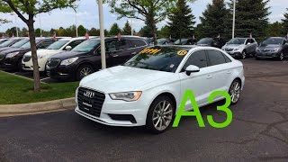 2015 Audi A3 2.0T Premium Quattro (Start Up, In Depth Tour, and Review)