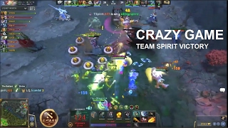 Crazy Game Dota LQ vs Team Sprit, Team Spirit Win