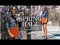 SPRING 2019 FASHION EDIT + TRY ON HAUL✨GIVEAWAY!! ✨// Maria Teresa Lopez