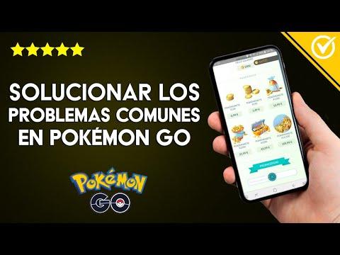 Cómo Solucionar Cualquier Problema o Problemas más Comunes y Códigos de Error Pokémon Go