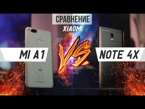 Битва Xiaomi Mi A1 против Redmi Note 4X. Что лучше и почему?