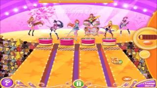Смотреть Винкс Клуб игра как мультик #4 - Фейерверк | Winx Club Game movie winx