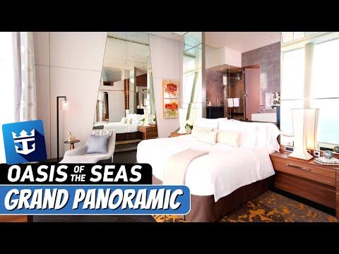 Royal Caribbean Oasis of the Seas | Grand Panoramic Suite Full Walkthrough Tour & Review | 4k
