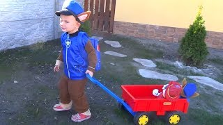 Learn Colors with Paw Patrol's fun day at the Playground by Funny Timur