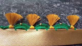 Baixar ಸೀರೆ ಕುಚ್ಚು#1 .sarre tassels designs tutorial for bignners.learn with me