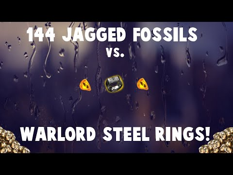 144x Jagged Fossils vs. WARLORD STEEL RINGS! 🔥 -Going for Impale rings! (Path of Exile Crafting)