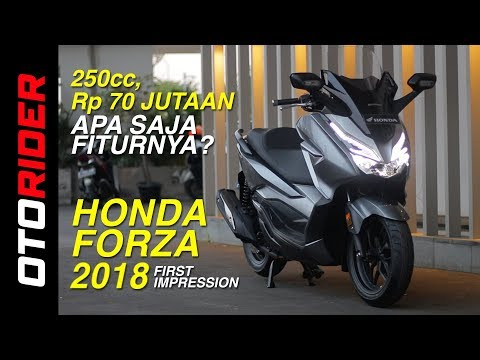 Honda Forza 2018 First Impression | OtoRider - Supported By GIIAS 2018