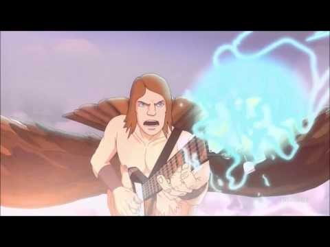 Metalocalypse: The Doomstar Requiem Toki/Skwisgaar Guitar Du