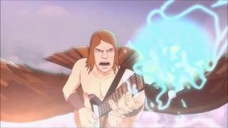 Metalocalypse: The Doomstar Requiem Toki/Skwisgaar Guitar Duel