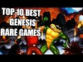 TOP 10 Best Sega Genesis Rare, Underrated Games