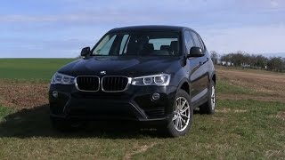 2017 BMW X3 20d xDrive (190 HP) TEST DRIVE