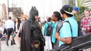 Batman v Rude Guy | The Real Toronto