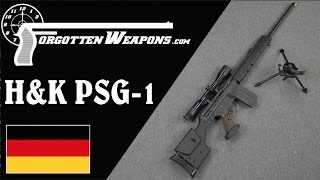 H&K PSG-1: The Ultimate German Sniper Rifle