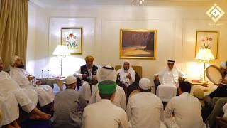 عليك صلى الله يا خير خلق الله، أي قلب هام فيكم وسكن - الشيخ محمود الدرة