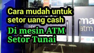 Gampang! Cara Setor Tunai ATM Bank Mandiri