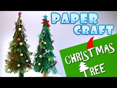 🎄Paper Christmas Tree | Paper Craft | DIY art