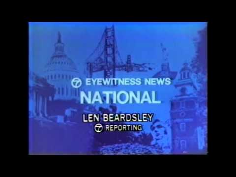 KABC-TV Channel 7 Los Angeles CA/The Saturday Night Movie Closing/Editorial/Sign Off News