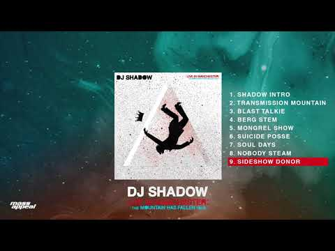 DJ Shadow - Sideshow Donor (Live In Manchester) [HQ Audio]