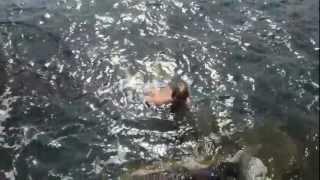 Swimming at Zandoli
