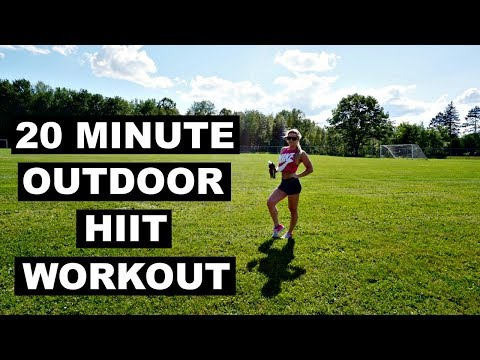 20 Minute Outdoor HIIT Workout | WORKOUT WEDNESDAY Ep. 03