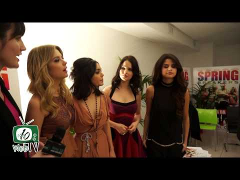 Spring Breakers - Italian Premiere. Interviste con Selena Gomez, Vanessa Hudgens, Ashley Benson...