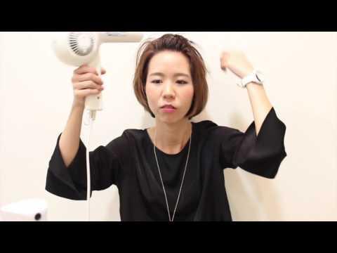 短い前髪をかきあげるやり方!ショートボブでも作り方は簡単だよ