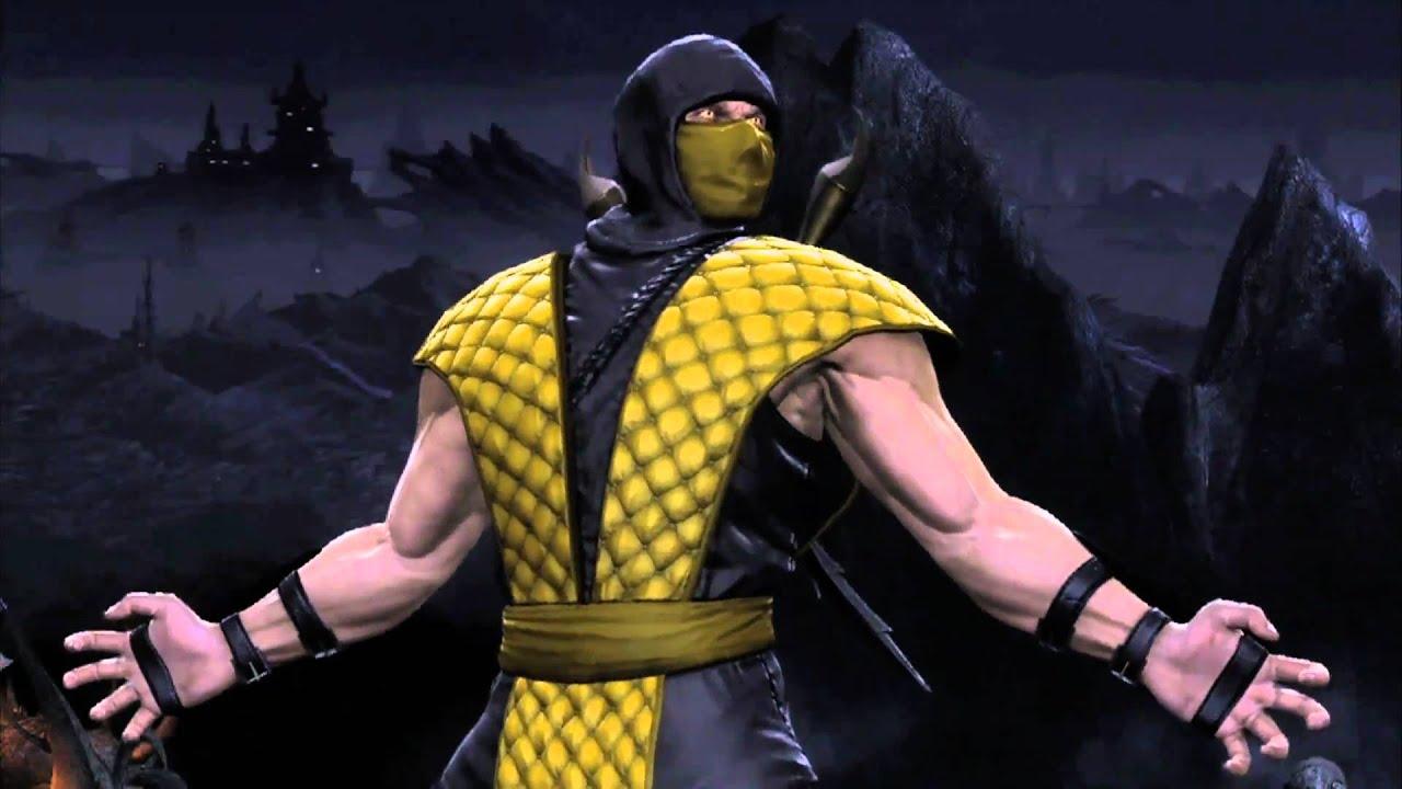 Mk Name Wallpaper Hd Mortal Kombat 9 Classic Scorpion Gamestop Trailer Hd