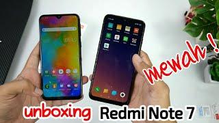 Redmi Note 7 Indonesia - unboxing + PUBG + antutu