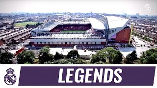 Real Madrid Leyendas to face Liverpool FC Legends at Anfield!