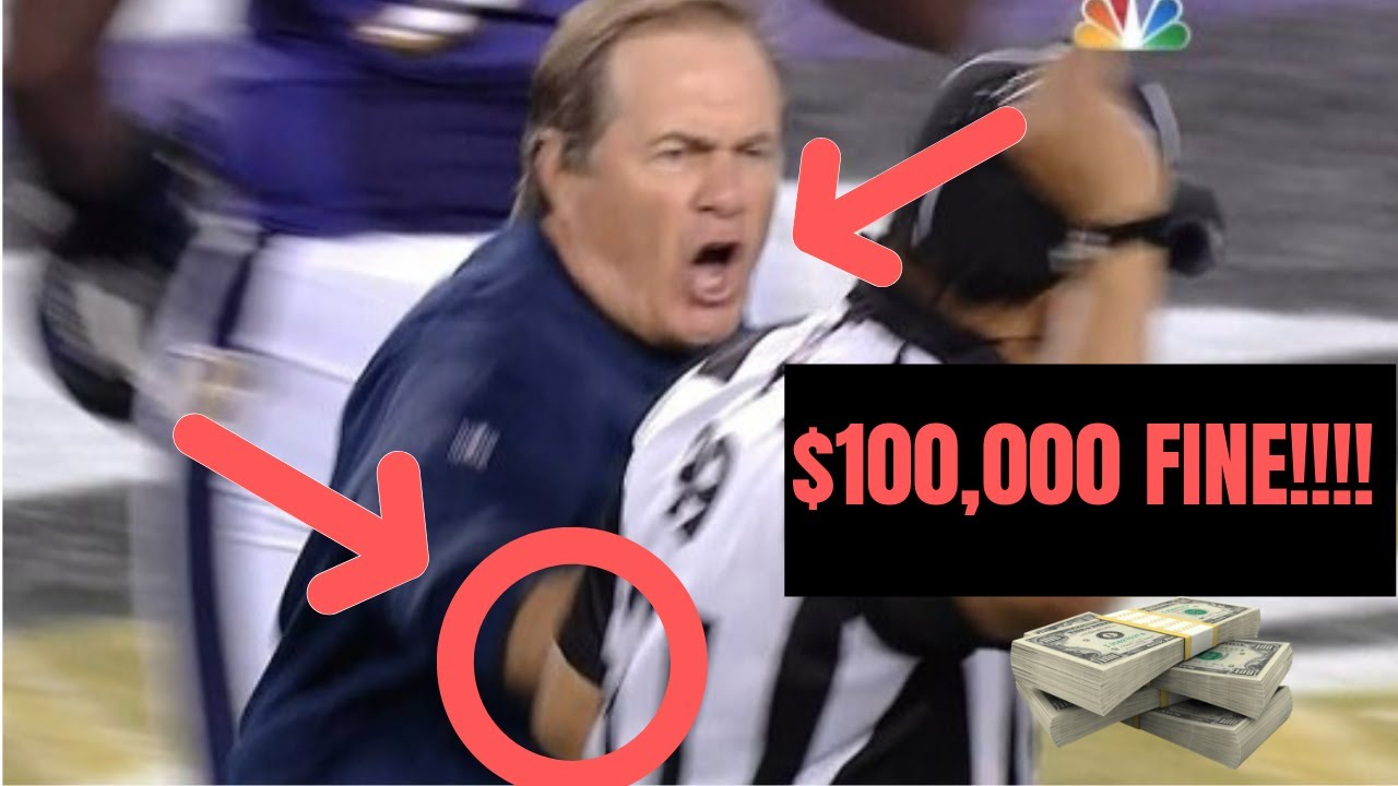 Bill Belichick Most Insane Rage Moments Funny