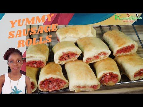 The easiest snack recipe - Sausage Rolls recipe