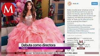 Thalía incursiona en la dirección con documental