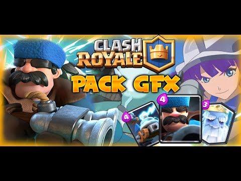 New Clash Royale GFX Pack