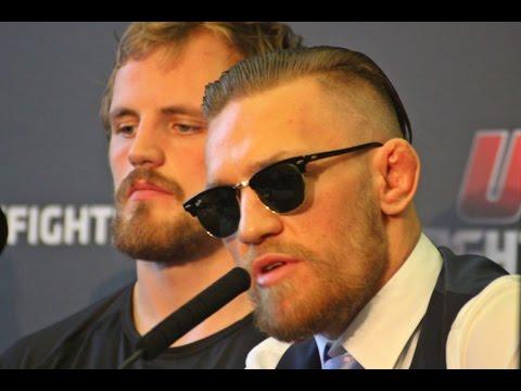 KammakazeTV: UFC Dublin Pre Fight Press Conference